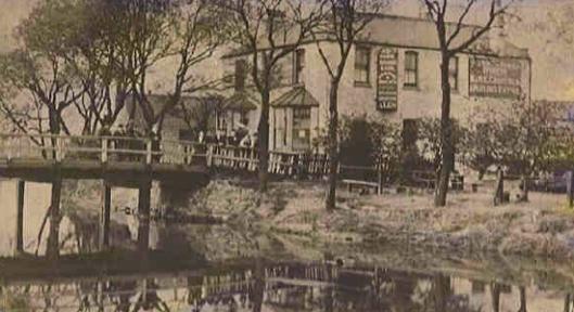 White house Hackney Marshes