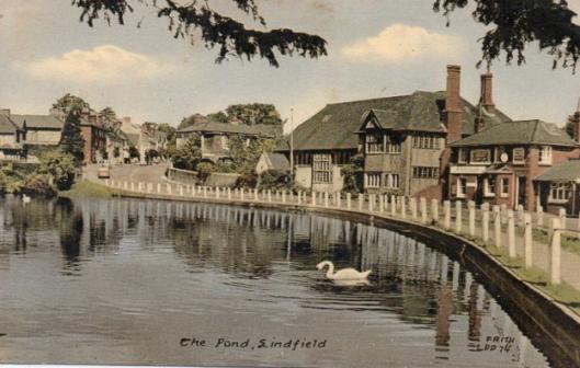 Lindfield Pond Postcard