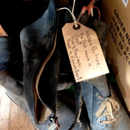 A customers discarded waders!