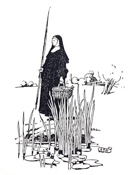 Fishing nun
