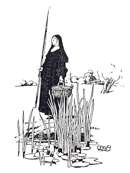 Fishing nun