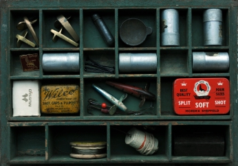 Vinatge Tackle Box